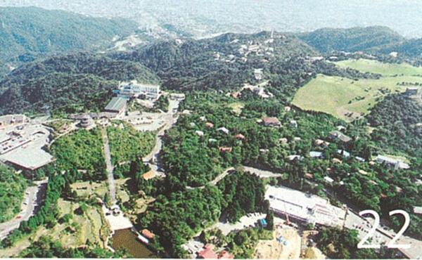 山上リゾート施設(平成元年)